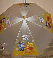 Зонт детский Винни, поливинил, на возраст 4-10 лет