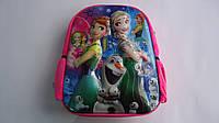 "Детский 6D рюкзачек ""Холодное Сердце.Frozen"",330*260*80мм,ТМ Копыця .Плюшевый детский рюкзачок  ""Холодное Серд"