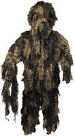 Костюм маскировочный Ghillie Suit лесной камуфляж MFH 07703T