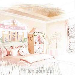 Пошив штор для детской маленькой принцессы