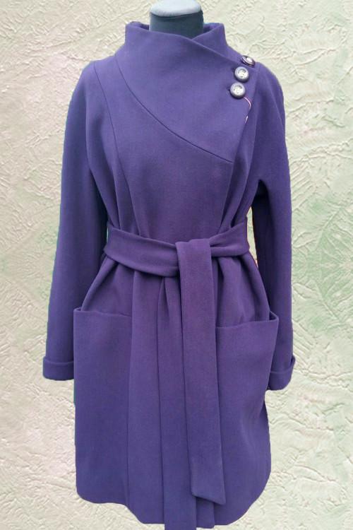 Женское пальто Almatti модель D-215-15 черника