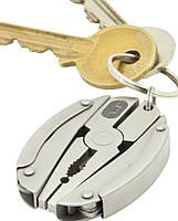 Брелок для ключей многофункциональный Scarab True Utility TU203 серебристый