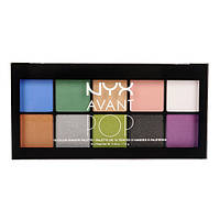 NYX APSP 01 Avant Pop! Shadow Palettes Art Throb - Палетка теней