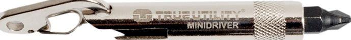 Брелок для ключей отвертка MiniDriver True Utility TU231