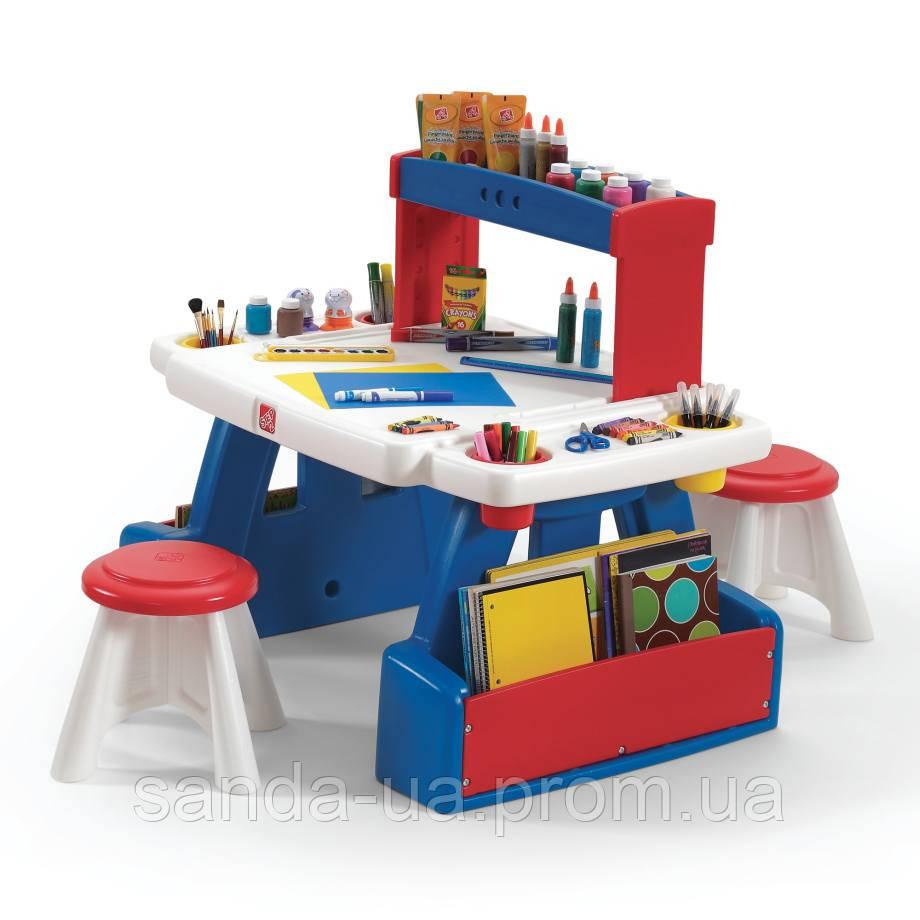 """Детский стол с 2 стульями для творчества """"CREATIVE PROJECTS"""""""