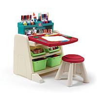 """Детский стол со стулом и доской для творчества """"FLIP&DOODLE"""", фото 1"""