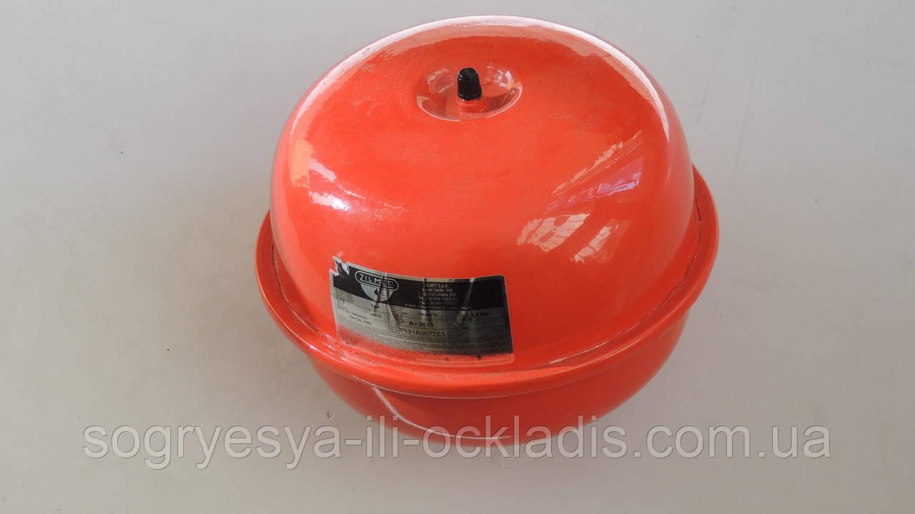 Бак расширительный Zilmet 4л -1G для систем отопления