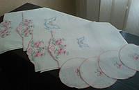 Венчальный набор с вышивкой  - 1