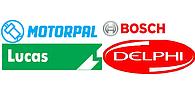 Распылитель Bosch, Dephi, Lucas, MOTORPAL