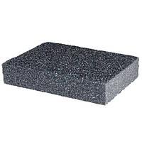 Губка для шлифования 100*70*25 мм; оксид алюминия К60 INTERTOOL HT-0906