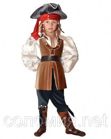 Детский костюм для мальчика Джек Воробей