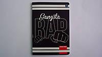 """Блокнот """"Gangsta Rap"""",А5,60л,клетка,Interdruk,мягк.ламин. обложка.Тетрадь """"Gangsta Rap"""",А5,60л,клетка,поля.Зап"""