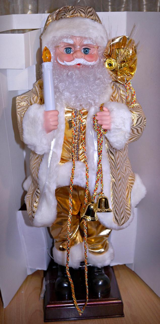 Музыкальный светящийся Дед Мороз, Санта Клаус