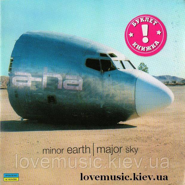 Музичний сд диск A–HA Minor earth, major sky (2000) (audio cd)