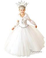 Детский костюм для девочки Снежная Королева