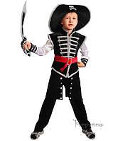 Детский костюм для мальчика Пират черный