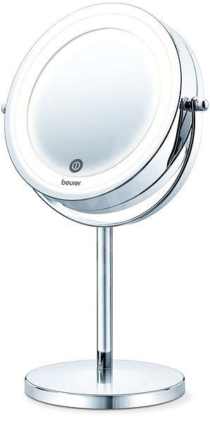 Косметическое зеркало для макияжа с увеличением и подсветкой Beurer BS 55