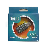Звуковая карта FY1051 USB 5.1CH Sound Card