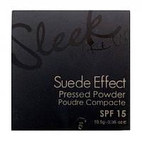 Пудра для лица плотного покрытия - Sleek Makeup Suede Effect Pressed Powder SE02 # 96011713  - 96011713