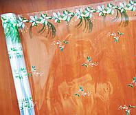 """Пленка с рисунком """"Цветы зеленые"""" (60 см; 400 г)"""
