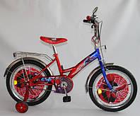 """Детский велосипед Спайдермен 14"""""""