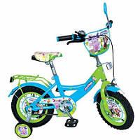 Детский 2-х колесный велосипед Лунтик Vip 12  blue