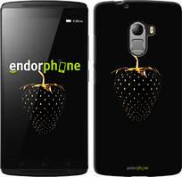 """Чехол на OnePlus 2 Черная клубника """"3585u-386"""""""