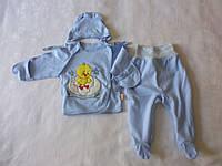 Комплект детский из ползунков, распашонки и чепчика