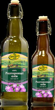 Масло расторопши Херсонські олії, 500мл