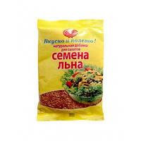 Льна семена 100г в мягкой упаковке (Агросильпром)
