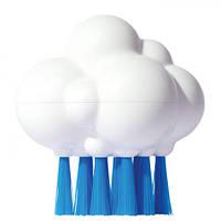 """Игрушка для ванной """"Плюи Щетка-Облако"""" для детей от 3 лет (9 см) ТМ Moluk Белый 43075"""