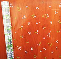 "Пленка с зеленым рисунком ""Сакура"" (60 см; 400 г)"