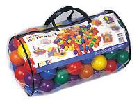 Шарики мячи пластмассовые для сухого бассейна для детей Intex 49600