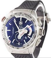 Часы мужские наручные Tag Heuer Grand Carrera Calibre 36 quartz Chronograph Silver 1021-0046 AAA copy SK