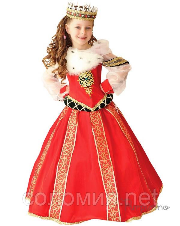 Детский костюм для девочки Королева Бургундская