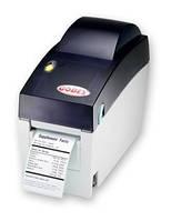 Godex EZ DT2 термопринтер штрихкода, принтер этикеток малогабаритный, фото 1