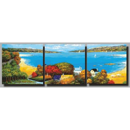 Картины по номерам Морское побережье