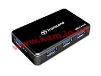 USB концентратор Transcend ( TS-HUB3K ) USB3.0 HUB 4-port + б.п. (TS-HUB3K)