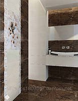 Плитка для стен облицовочная для ванных комнат Сакура