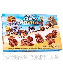 Молочный шоколад  Choco Animals  , 100 гр