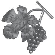 Гроздь винограда кованая 200х120