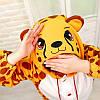 Пижама костюм гепард кигуруми, фото 3
