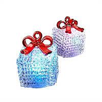 Набор интерьерных украшений со световыми эффектами «Подарки» (2шт.)