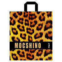 "Пакет с петлевой ручкой ""MOCSHINO"" 40х43см."