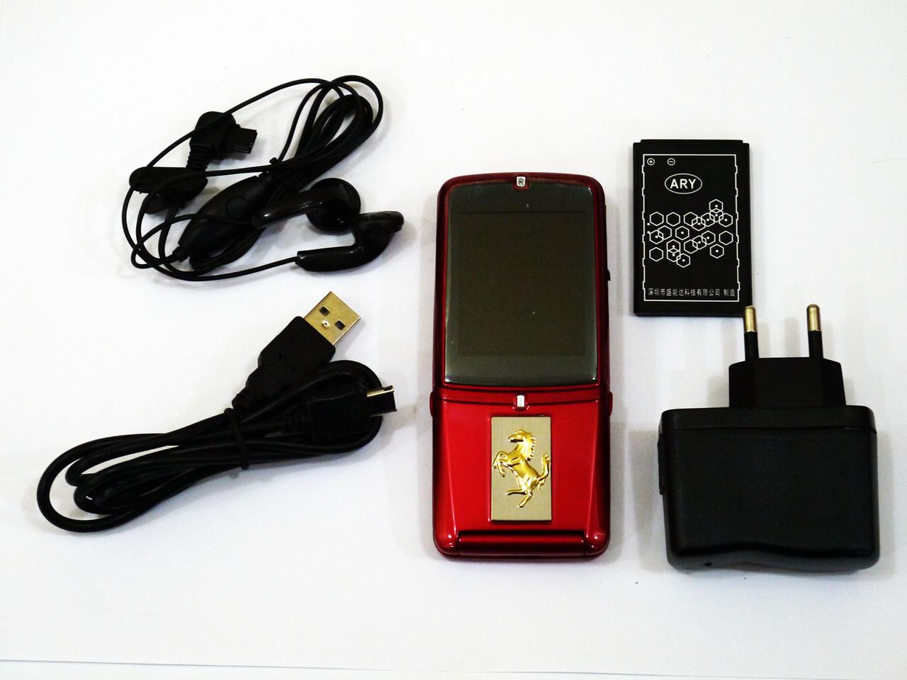 Мобильный телефон VERTU Ferrari V095 Красный копия