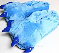 Синие лапки тапочки для кигуруми