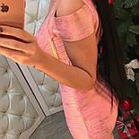 Женское стильное платье-утяжка, фото 2