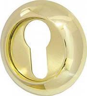 Накладка CYLINDER ET-1GP/SG-5, золото, матове золото 2шт