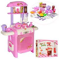 Детский игровой набор Кухня TY8018RP, свет/звук, посуда, продукты, высота 60 см, пластик, 2 вида