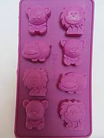"Силиконовая формочка для выпечки ""Сафари"",  22*12*2 см., 80/70 (цена за 1 шт. + 10 гр.), фото 1"